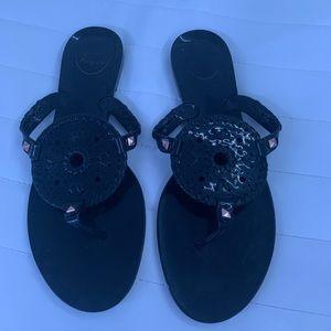 Jack roger black sandals